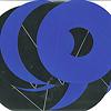 アコナ・ビコンビ:中身はこんな感じ(青の場合)。4色とも裏面は銀色。