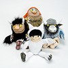 手人形チッピー:手人形4種類