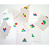 リトル・アイ 4:ひとつがたくさん:3つ折りになったカードが12枚入っています。