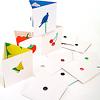 リトル・アイ 6:このいろなあに?:3つ折りになったカードが12枚入っています。
