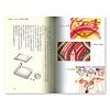子ども・絵・色:第4章「シュタイナー教育の中の絵画」より。上2点はシュタイナー幼稚園の子が描いたクレヨン画。下は普通の幼稚園の子が描いた絵。