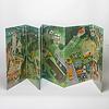 パノラマ絵本:裏面は田舎の風景