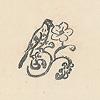 岩波少年文庫の装丁の歴史2(創刊時の4冊を観る):扉の中央にある鳥と花のマーク