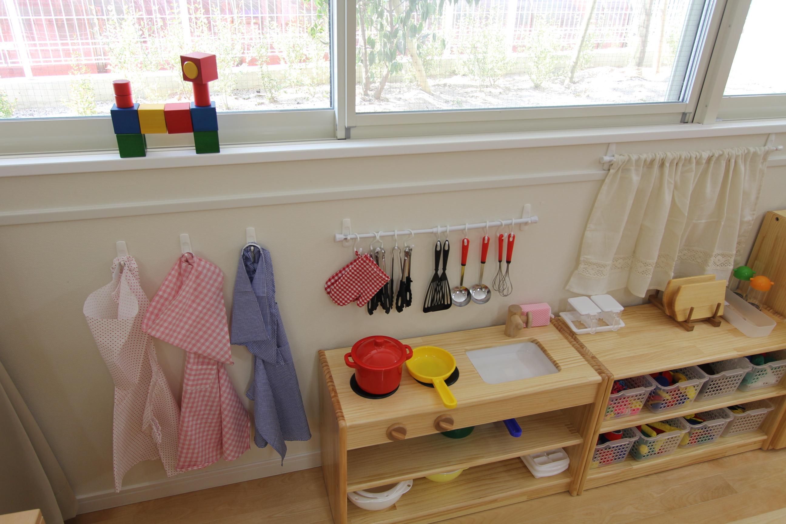 幼児 幼児 積み木 : 百町森が目指す理想の保育室