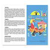 モビール ムーミン:付録のリーフレット(3つ折り)には、作者トーベ・ヤンソンとムーミン作品の略歴(英語)