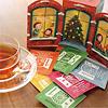 【限定】クリスマスカウントダウンのお茶24P:ティーバッグには日付が印刷されています。