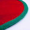 クリスマスツリーマット / クリスマスツリースカート(赤):