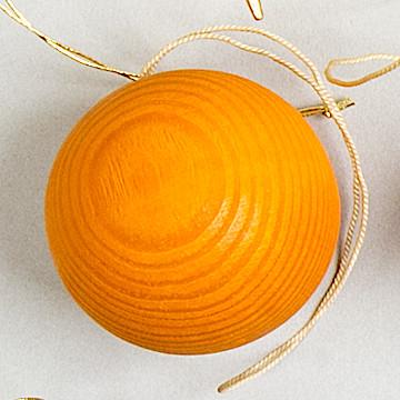 オーナメント ベッククーゲル オレンジベッククーゲル大 オレンジ