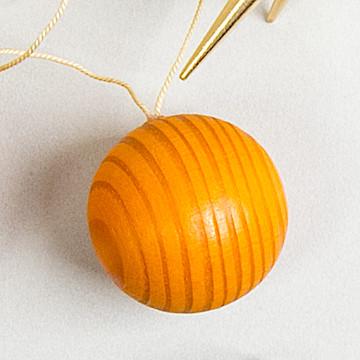 オーナメント ベッククーゲル オレンジベッククーゲル小 オレンジ