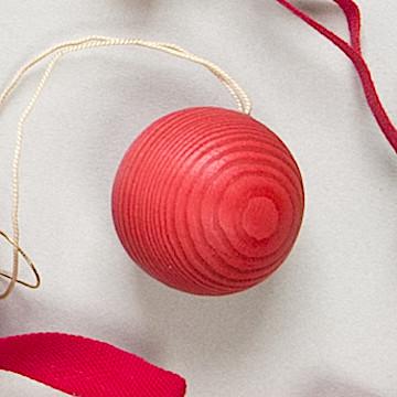 オーナメント ベッククーゲル 赤ベッククーゲル小 赤