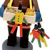 街角のおもちゃ屋さん:左の金色の包みが(おそらく)シュトリーツェル。ハンペルマンも。