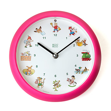 メロディ時計 ドイツの子どもの歌ピンク