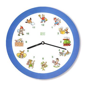 メロディ時計 ドイツの子どもの歌ブルー