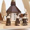 尖塔アーチ型キャンドルスタンド「聖歌隊と小さな村」: