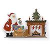 サンタのプレゼント(暖炉):色違い