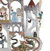 壁掛け メルヘンの城: