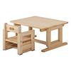 プレイチェア:プレイテーブルと(低い状態)