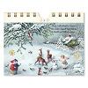 卓上アドベント 幸せな日:1枚ずつ切り離してポストカードになります。