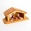 65600 家タイプ馬小屋(木箱無):ミニサイズの生誕セット(別売)と合わせると、こんな感じです。