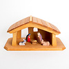 66510 聖家族ミニ5個木箱入り: