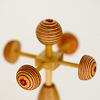 鯉のぼりセットNoB(小):風車(シナ積層材)は飾り