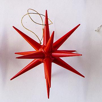 オーナメント 赤い星 立体赤い星 立体(大)