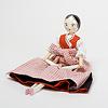 復刻版木製人形38cm洋服付: