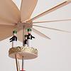 Fキャンドル立て 天使とピラミッド:ロウソクの上昇気流で羽根が回ります。