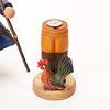 RMハトと農夫:金属の円形プレートにお香を置きます(写真は別のアイテムです)。