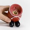 RMサンタ(もみの木):金属製の香台を取り出して、そこにお香をセットします。