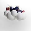 RM雲の上のペトロ(吊り):吊り下げた状態を下から見るとこんな感じです。
