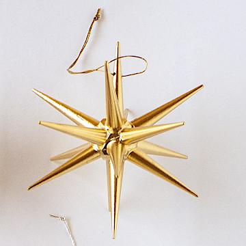 オーナメント 金の星 立体金の星 立体(大)