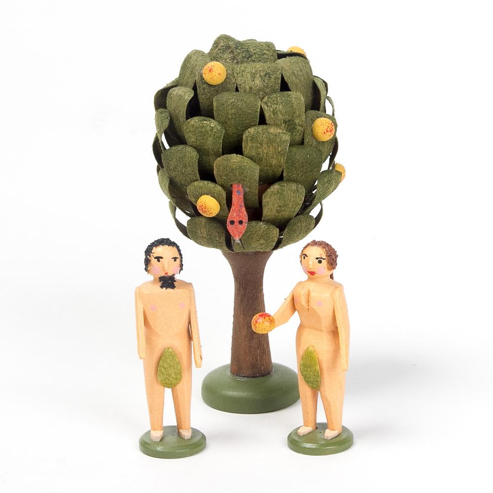 wアダムとイヴとりんごの木 生活 くらし 百町森
