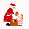 サンタと女の子: