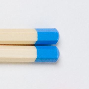 子ども用はし 小学校低学年(17cm)青