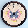KH372/373 円びな五段飾り:2段め:三人官女