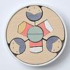 KH415 銀杏円びな五段飾り:2段目