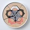 KH415 銀杏円びな五段飾り:3段目