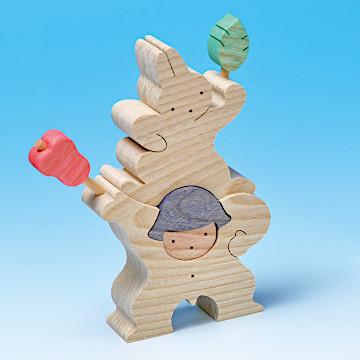 KK109/209/309 軍配を持つ金太郎とウサギ軍配を持つ金太郎とウサギ