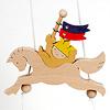 KN284 昇り人形 馬乗りかぶと童子: