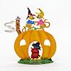 ハロウィーン かぼちゃとネズミ: