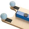 ロッカー:ゴム製なので滑りにくく、ブロックに安全にかけることができる