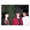 ネフ社創立50周年記念パーティー(3):カテリーナ・キーナーさん(中央)と・・かかなりうれしいボク。