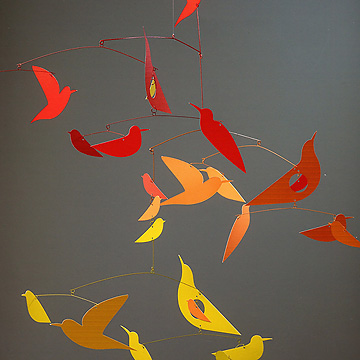 MOBILE バード / MOBILE BIRDS赤