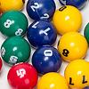魔法のステッキ:色玉には数字が書いてあります。