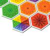 セレンディピティ:6色のセレンディプカードが高得点のカギ。自分の花畑に接していると+2点、色が合っていると(オレンジ、赤がそうです)、さらに+2点。