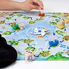 パイレーツゲーム:サイコロの目に従って島を巡り、宝物を積みます。