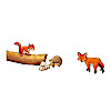 パネルパズル 森の動物たち: