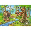ジグソー2×24 森の動物: