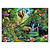 ジグソーパズル200 ジャングルの動物たち: